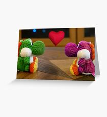 Yoshi Love Greeting Card