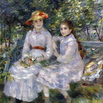 Auguste Renoir - The Daughters Of Durand - Ruel by artcenter
