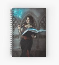 Expecto Cunicolum Spiral Notebook