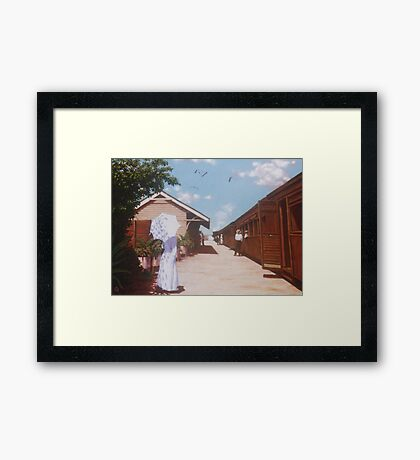 Two Different Journeys Framed Print
