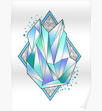 dissolved crystal Poster