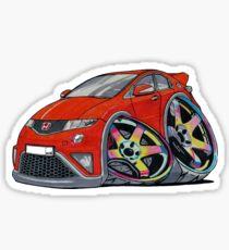 Honda Civic Neochrome Wheels Sticker
