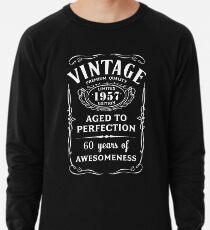 baaa85f43 Vintage Limited 1957 Edition - 60th Birthday Gift Lightweight Sweatshirt