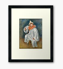 Auguste Renoir - The White Pierrot (Jean Renoir), 1901 Framed Print