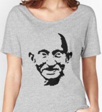 mahatma gandhi Women's Relaxed Fit T-Shirt