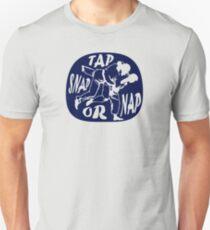 """Brazilian Jiu Jitsu """"Tap snap or nap"""" - BJJ / Judo Unisex T-Shirt"""