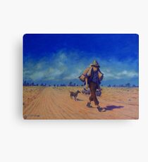 The Swaggie Canvas Print