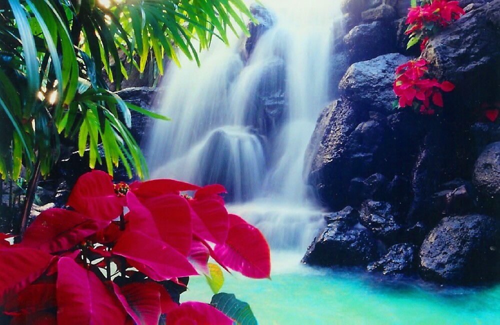 Waterfall in a Mall by seagrl44