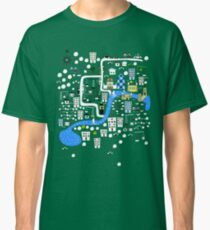 Cartoon Map of London Classic T-Shirt