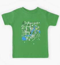Cartoon Map of London Kids Tee