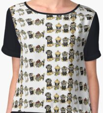 Final Fantasy XV Pugs Women's Chiffon Top