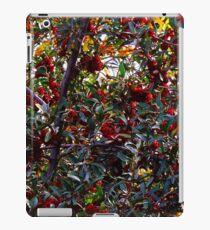 Red Berry Bush iPad Case/Skin