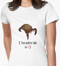 I headcrab U Women's Fitted T-Shirt