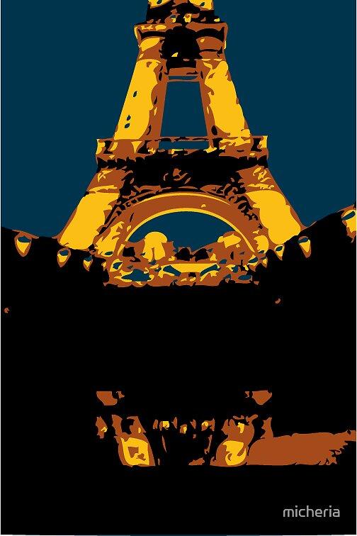 eifel tower by micheria