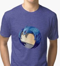Thunder Bird Logo Tri-blend T-Shirt