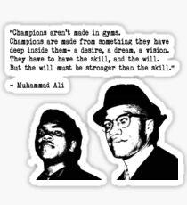 Champion Sticker