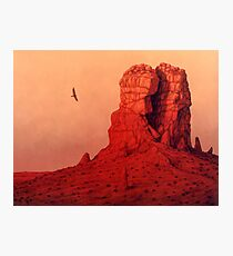 The Monolith Photographic Print
