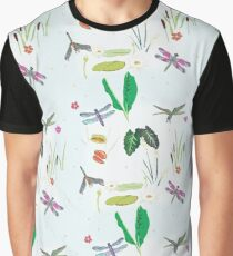 Dragonfly Delight Graphic T-Shirt