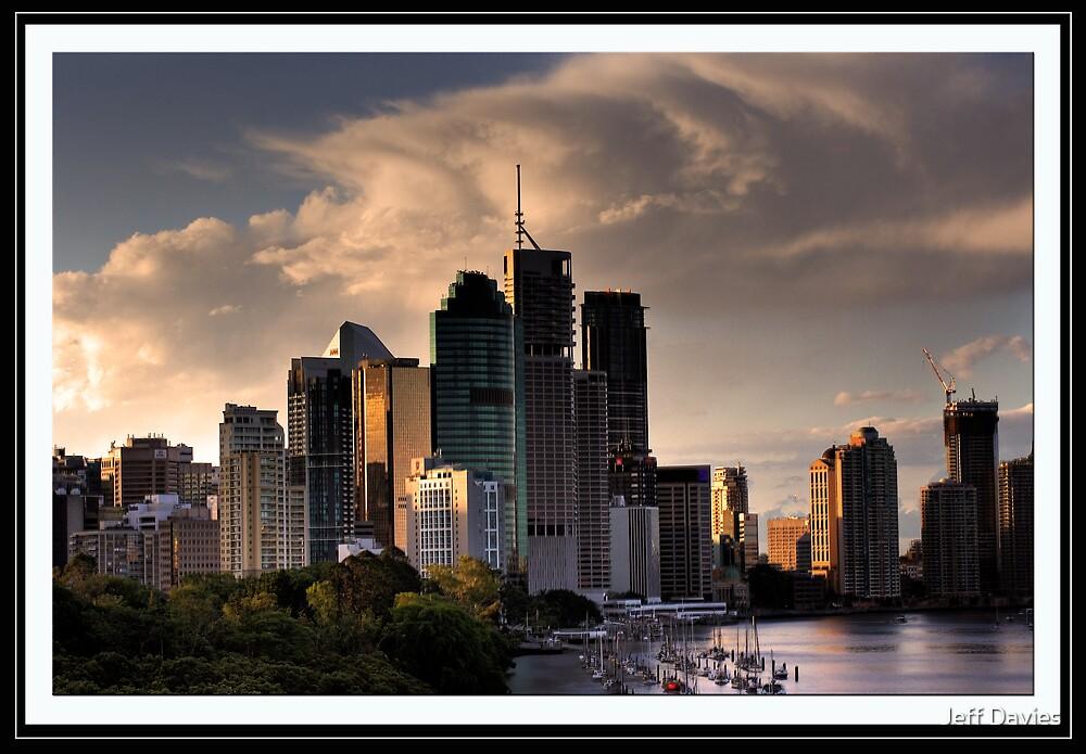 Brisbane city by Jeff Davies