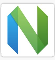 Neovim Logo Simple Sticker