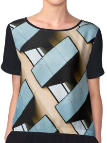 Rectangles and Reflection Women's Chiffon Top
