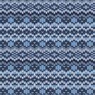 Gestrickte geometrische Muster von Viktoriia