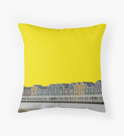 Houten Throw Pillow