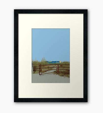 IKEA fence Framed Print