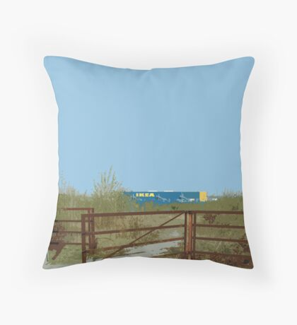 IKEA fence Throw Pillow