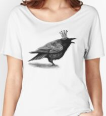 Crow in crown Relaxed Fit T-Shirt