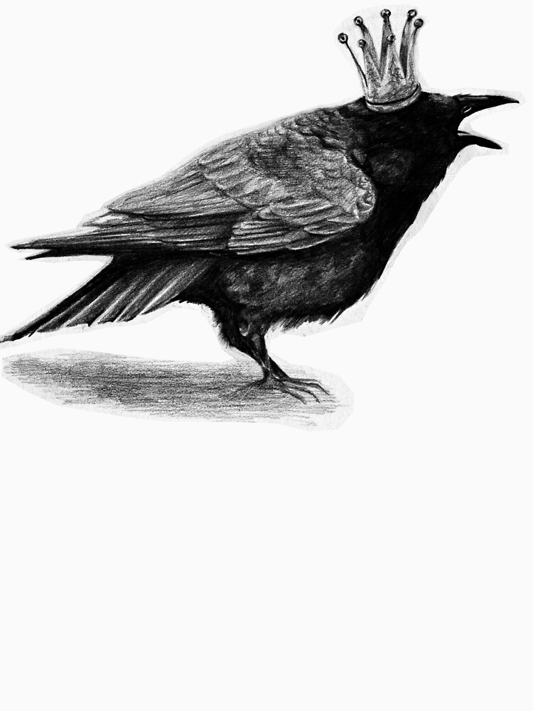 Crow in crown by AnnaShell