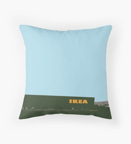 ikea highway Throw Pillow