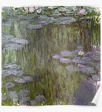 Claude Monet - Nympheas At Giverny Poster
