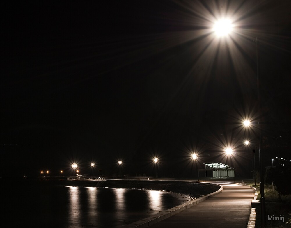 Sandgate at night by Mimiq