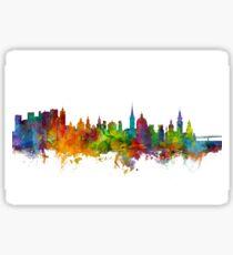 Salzburg Austria Skyline Sticker