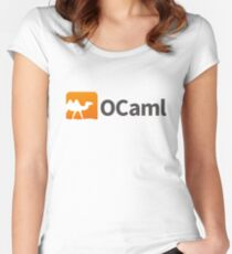 Ocaml logo Women's Fitted Scoop T-Shirt