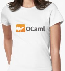 Ocaml logo Women's Fitted T-Shirt