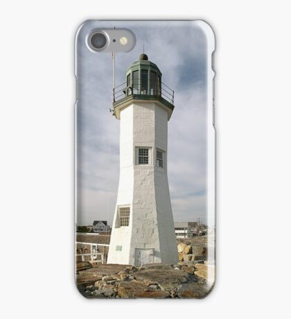 Scituate Lighthouse iPhone Case/Skin