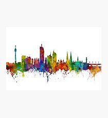 Vienna Austria Skyline Photographic Print