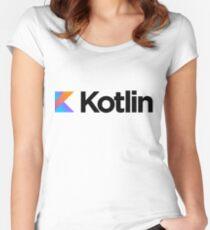 Kotlin Logo Women's Fitted Scoop T-Shirt
