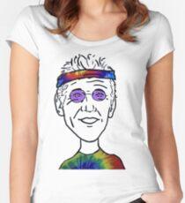 Bill Walton Basketball Guy Women's Fitted Scoop T-Shirt