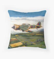 Martinet Target Towing 1945 Throw Pillow