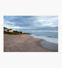 Florida beach in the morning Photographic Print