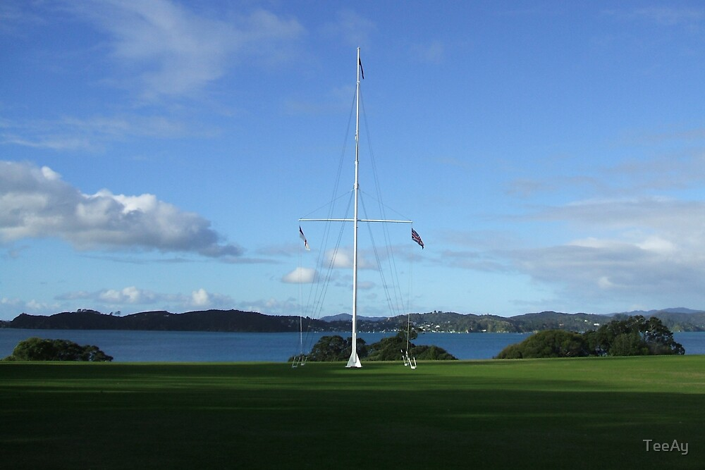 Waitangi, New Zealand by TeeAy