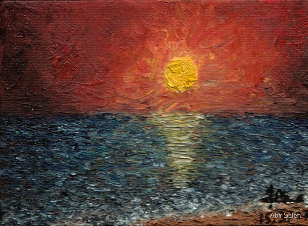 Sunset by Abir Saleh