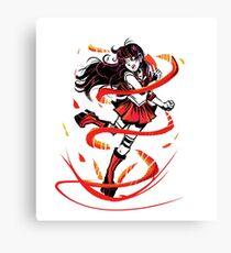 Sailor Mars Canvas Print