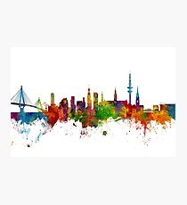 Hamburg Germany Skyline Photographic Print