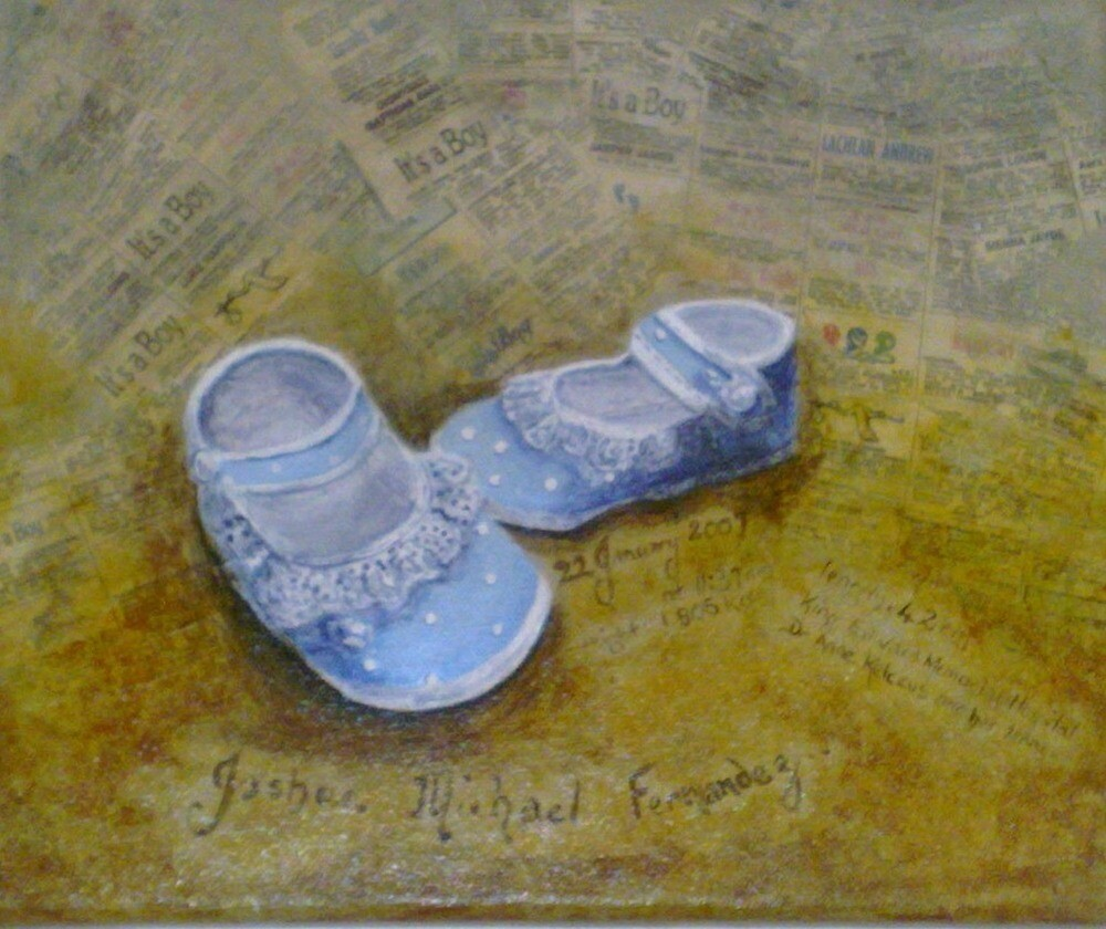 Joshua's Baby Shoes by Karen McGrath