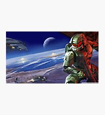 Halo Master Chief Poster Photographic Print