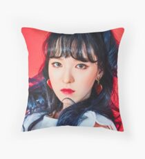 rookie wendy rv Throw Pillow